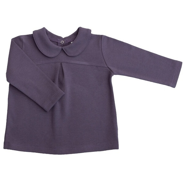 ioBio Bluse Ida langarm kbA grape