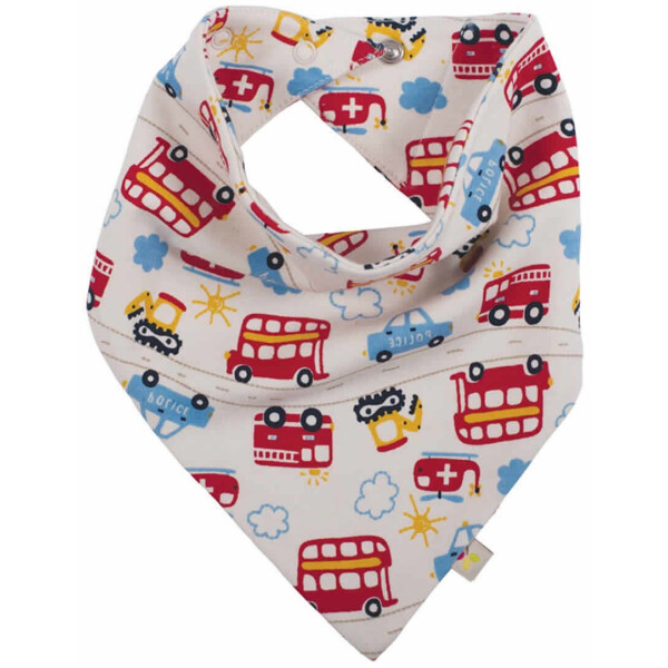 Frugi Bandana Bibs Lätzchen Bio-BW On the Road