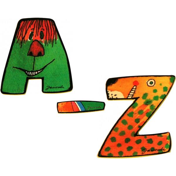 Janosch Holzbuchstaben